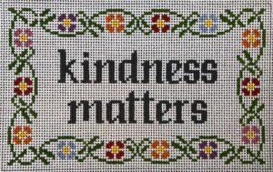 KM321- Kindness Matters, 8 x 5, 13m