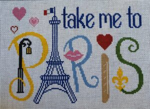 TP318- Take me to Paris, 8 x 11, 13m